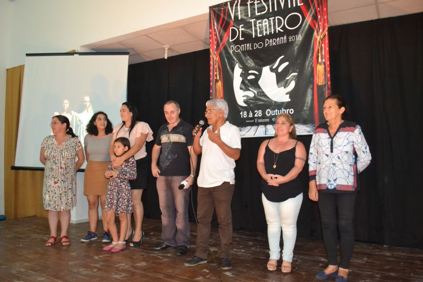 Vencedores do Festival de Teatro receberam premiação