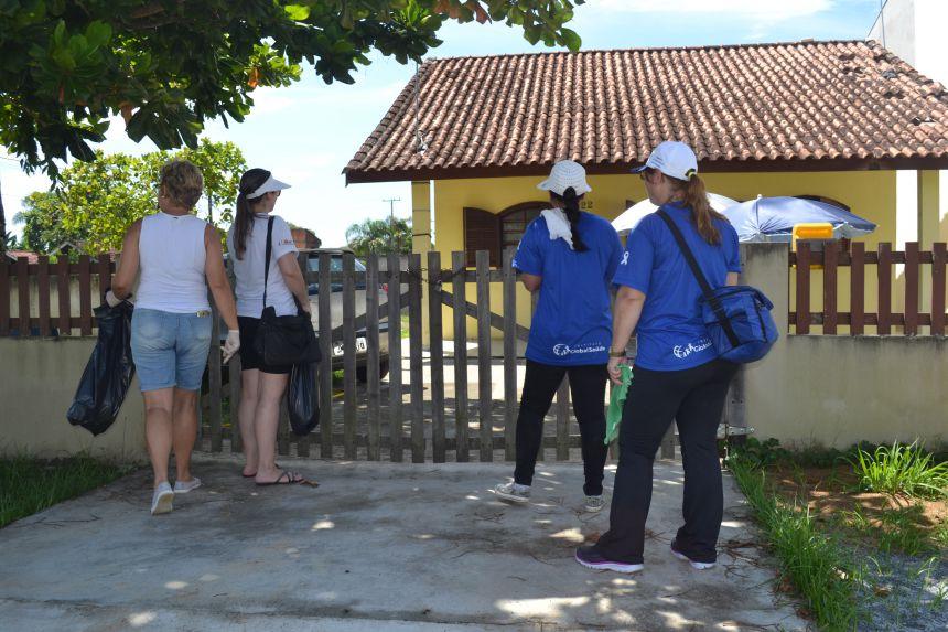 Pontal do Paraná contra a Dengue - Pontal do Sul recebe equipe de combate