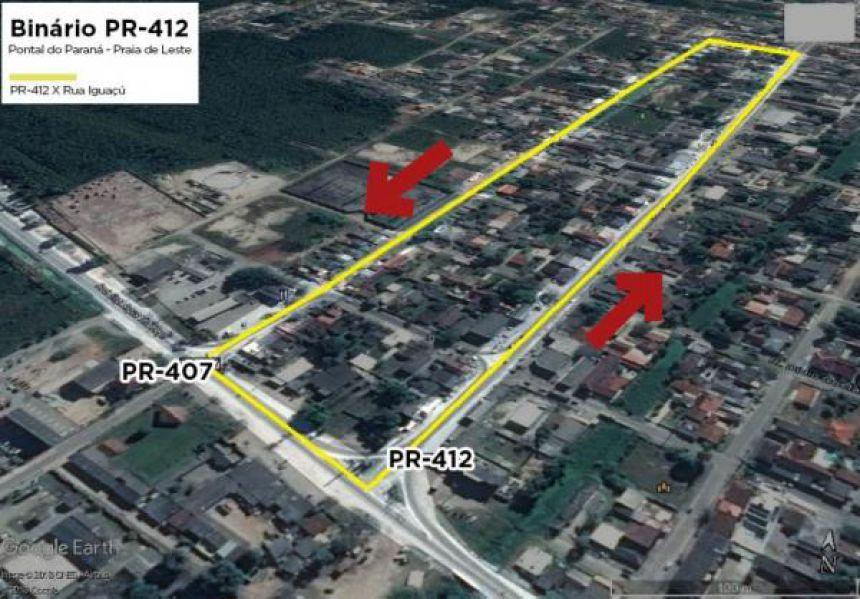 Licitação para Construção do Binário em Praia de Leste foi aberta