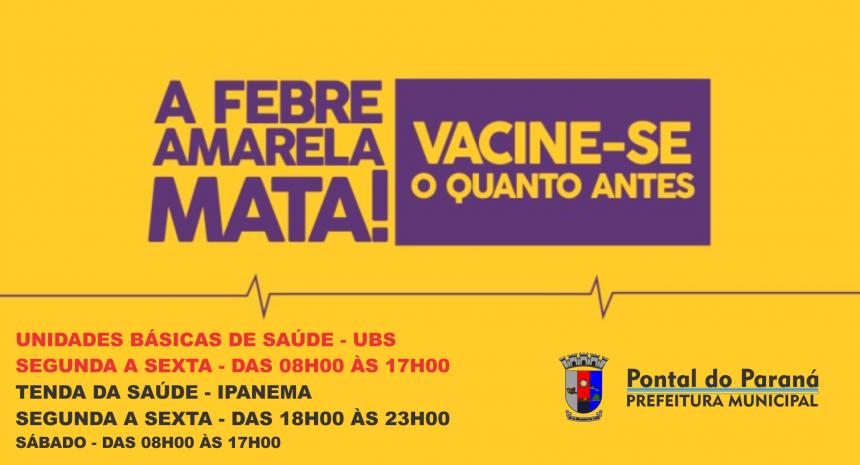 Pontal do Paraná contra a Febre Amarela