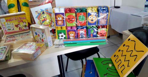 Prefeitura apoia inclusão com aquisição de materiais pedagógicos para alunos com necessidades especiais na rede regular de ensino