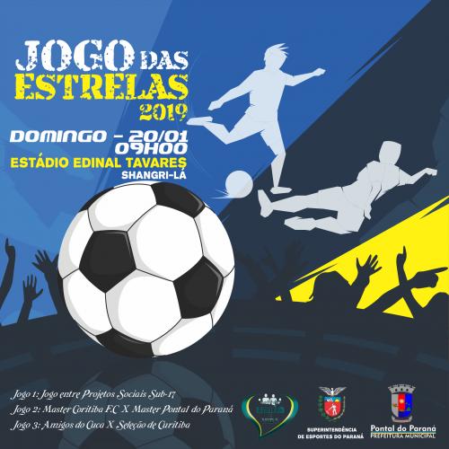 Jogo das Estrelas é neste fim de semana em Pontal do Paraná