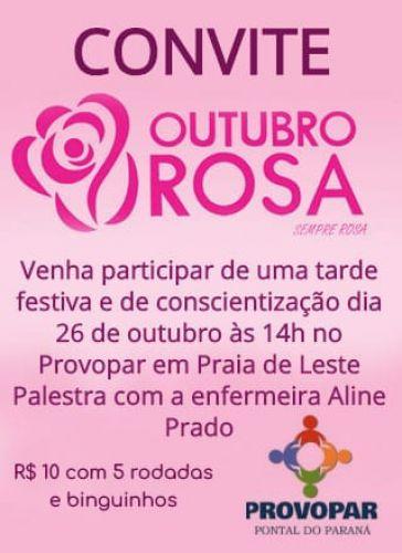 Provopar Pontal do Paraná promove tarde para as mulheres