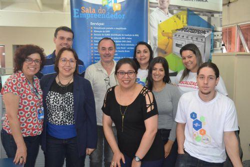 Sala do Empreendedor recebe visita da coordenação do Sebrae