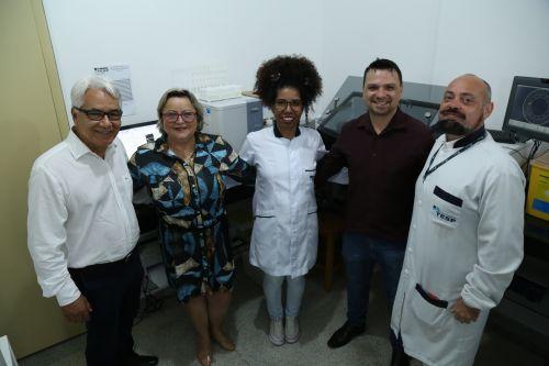 Recém-inaugurado, laboratório de análises clínicas já está sendo utilizado pela população de Pontal do Paraná