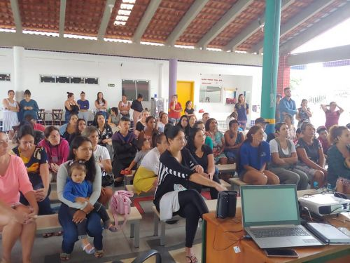 Saúde na Escola: UBS Pontal do Sul realizou palestra no CMEI Leão Marinho