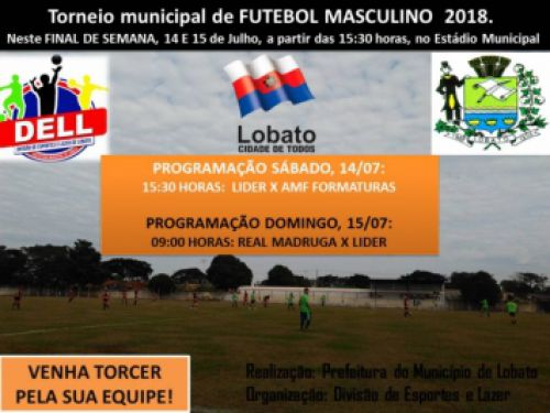 CAMPEONATO MUNICIPAL DE FUTEBOL 2018
