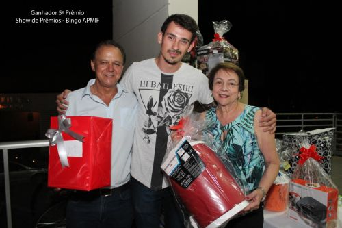 BINGÃO DE SHOW DE PRÊMIOS 2019