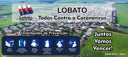 COMUNICADO. Departamento de Saúde de Lobato