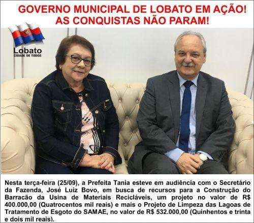 GOVERNO MUNICIPAL DE LOBATO EM AÇÃO