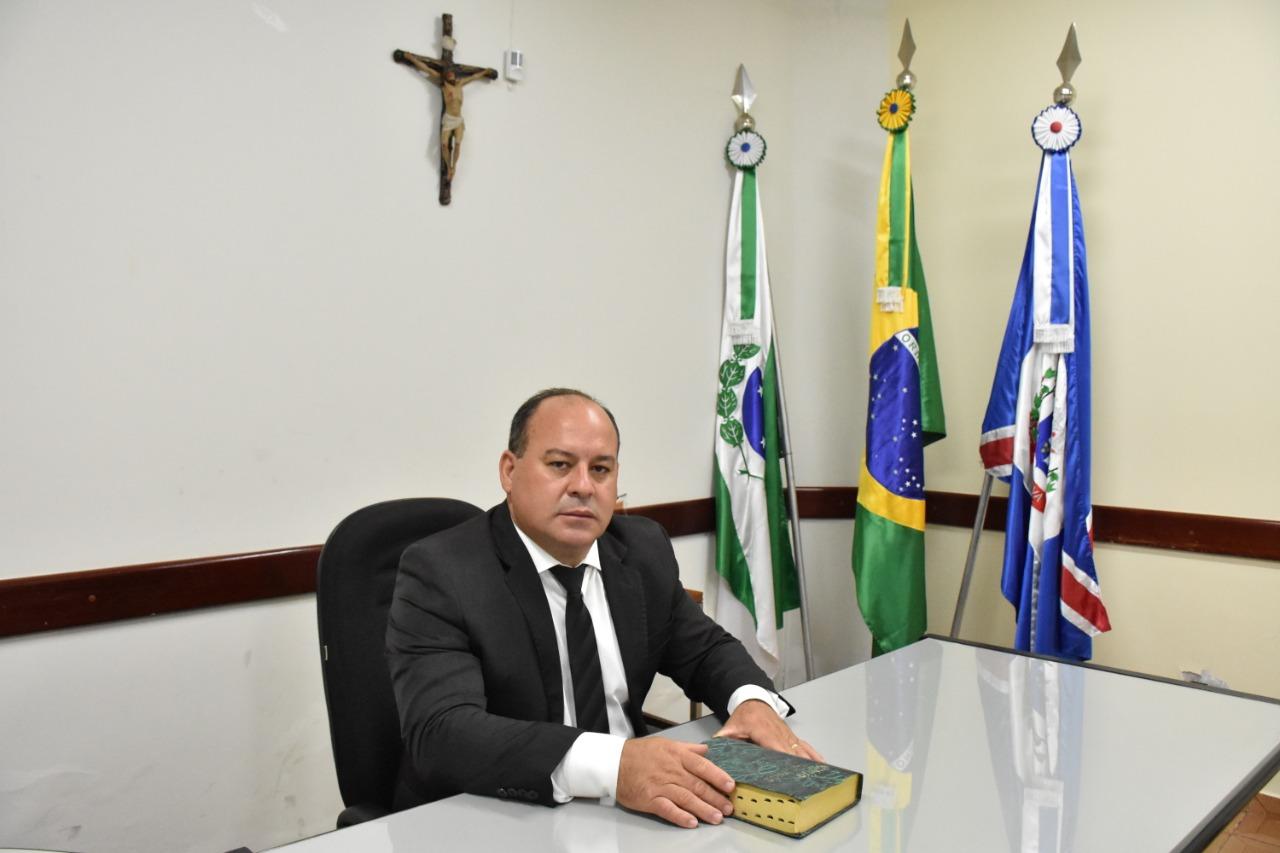 Paulo César da Silva assume a presidência da Mesa-Diretora para o biênio 2021/2022