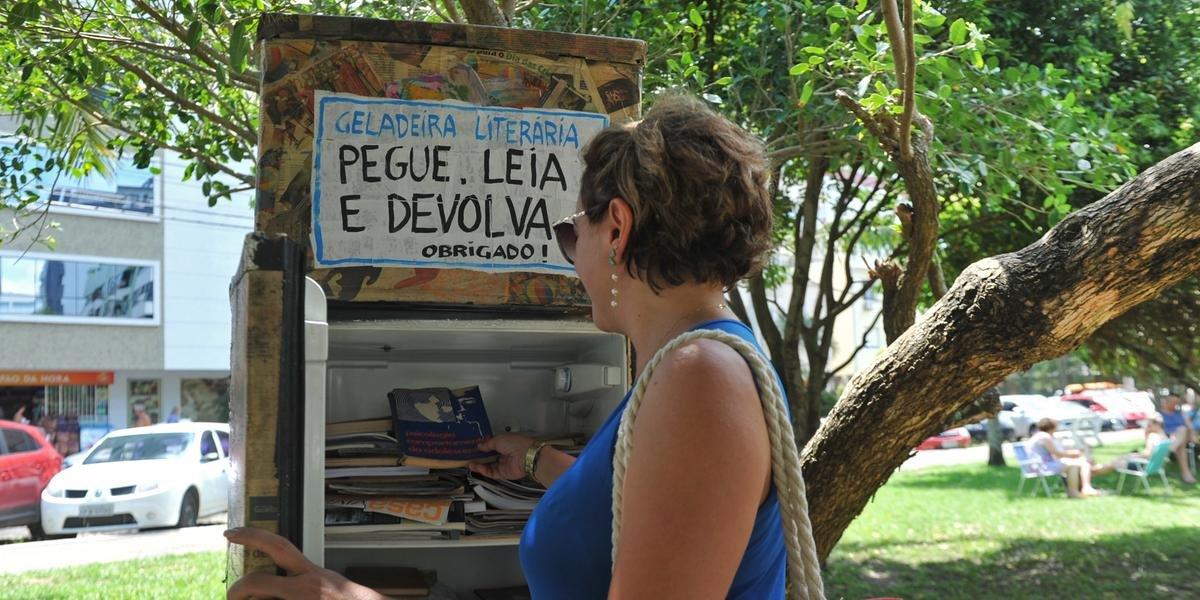Munícipe sugere a implantação do programa Geladeira Literária