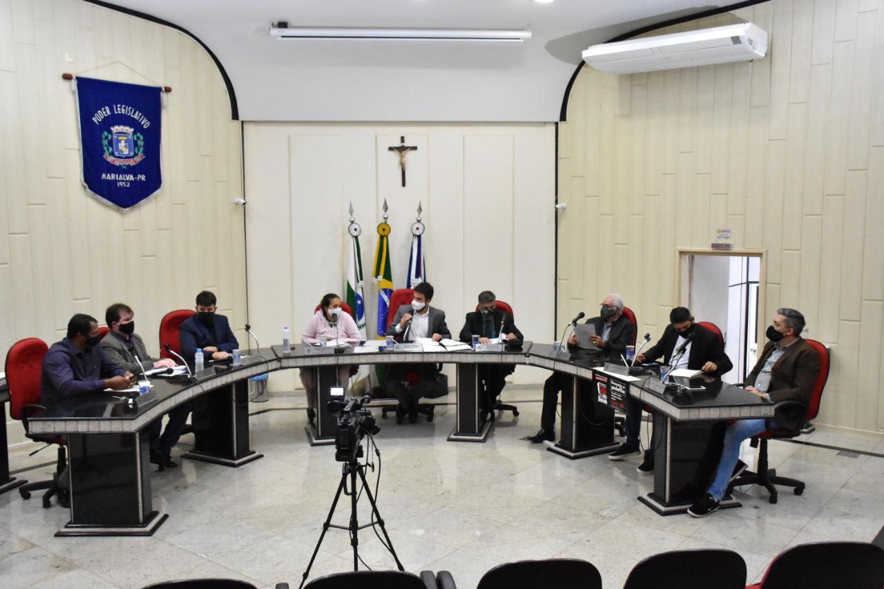 sessão ordinária da Câmara Municipal de Marialva em 29 de junho de 2020