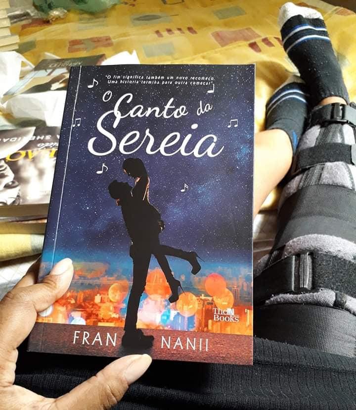 Fran Nanii autora do livro