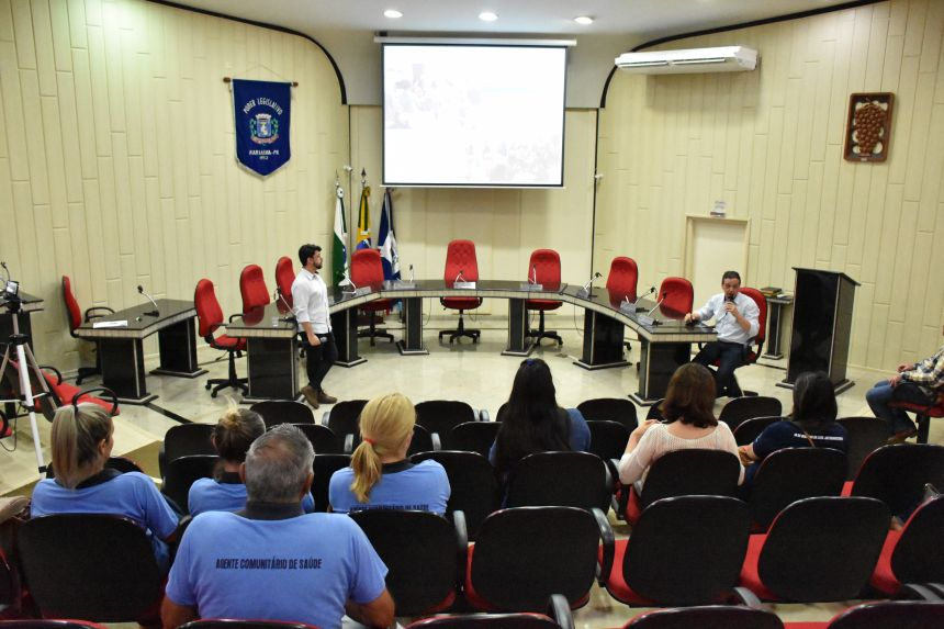 Audiência Pública para apresentação do atendimento prestado pela Saúde no 1º quadrimestre de 2019