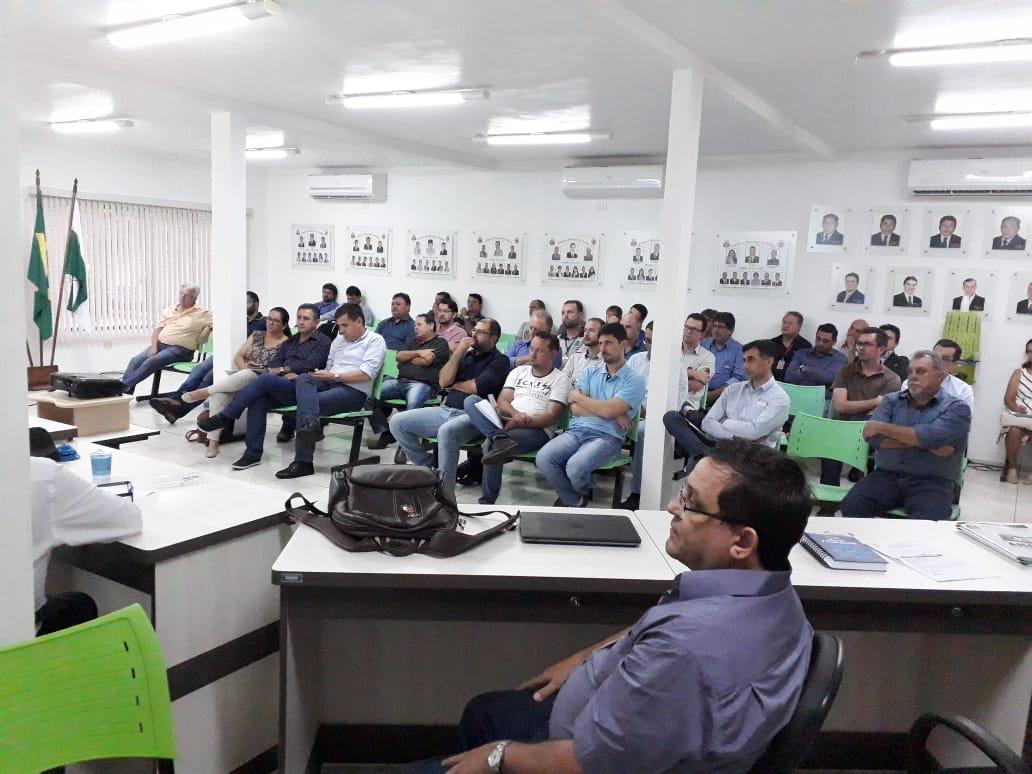 Câmara sedia reunião do CONSÓRCIO  INTERMUNICIPAL PIQUIRI