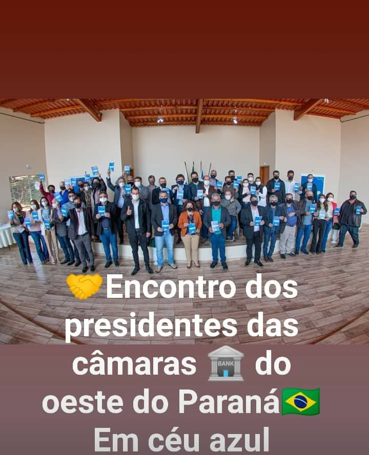 Presidente da ACAMOP se reúne com Vereadores.