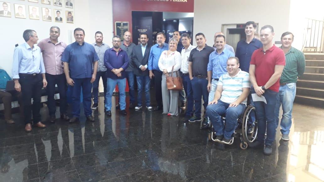 Vereador Luciano participa de reunião com senador FLAVIO ARNS