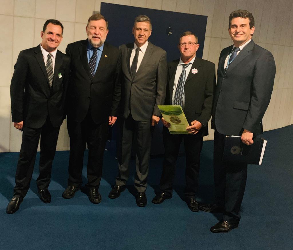Vereadores e Prefeito vão em Brasília em busca de emendas parlamentares.