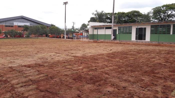 REFORMA CENTRO ESPORTIVO - DISTRITO DE RIO VERDE