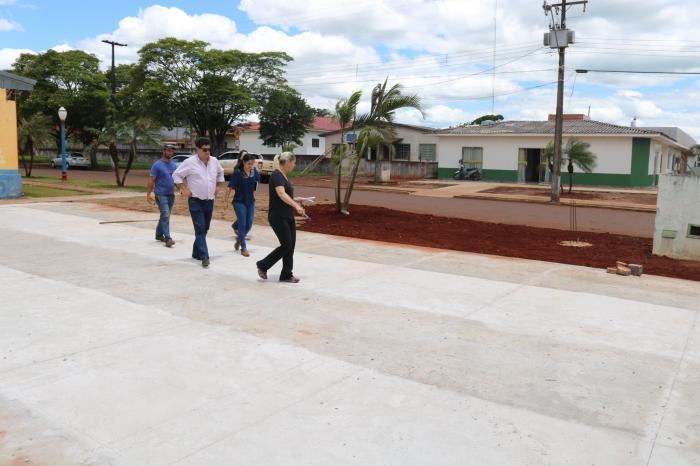 CENTRO ESPORTIVO MUNICIPAL J� ESTA EM FASE DE CONCLUS�O