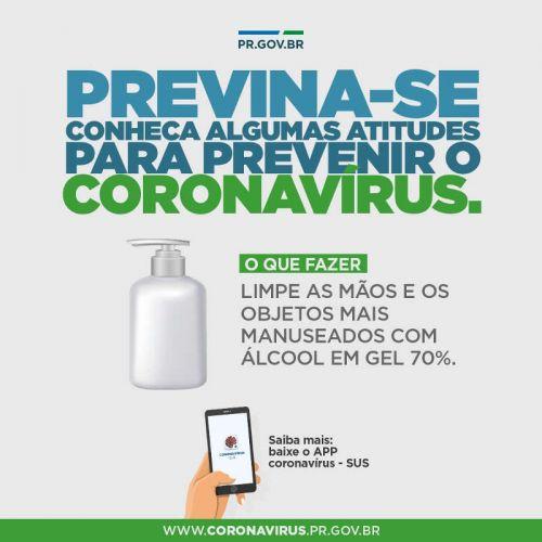 Previna-se do Coronavírus