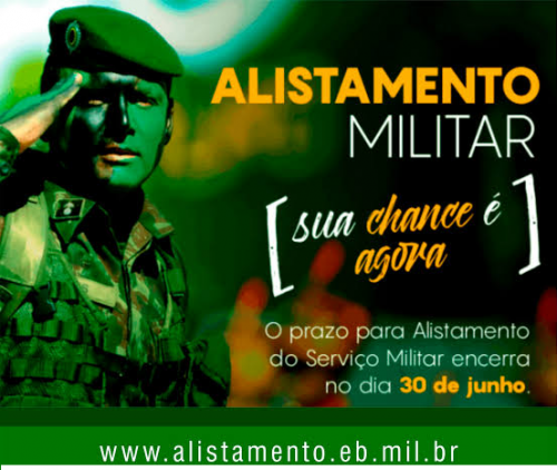 ALISTAMENTO MILITAR DE 2020