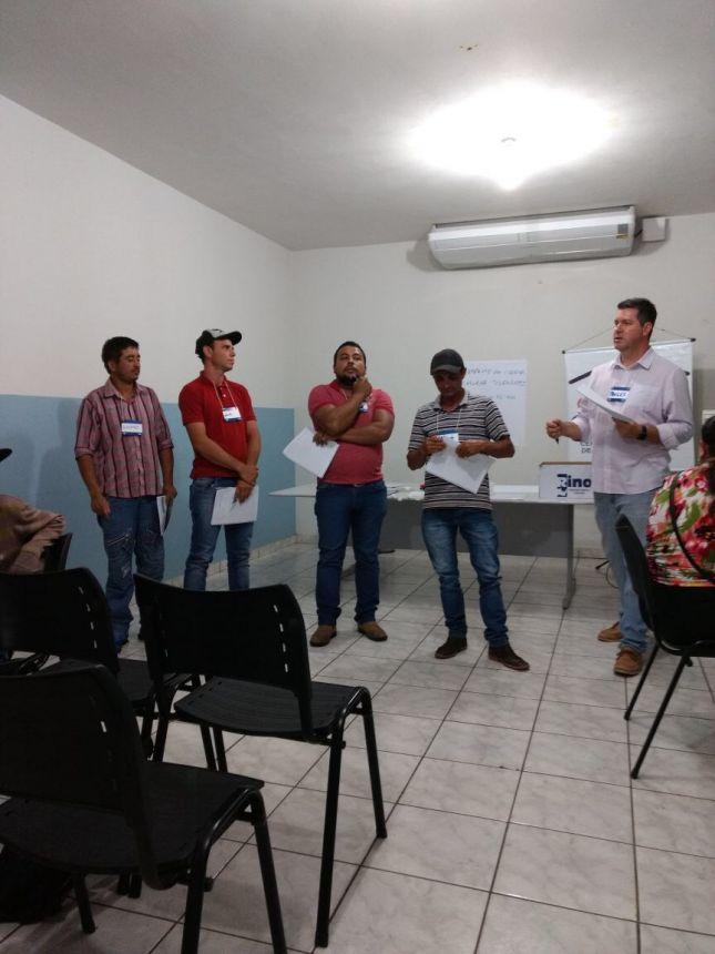 MEIS PARTICIPAM DE OFICINA EM JOAQUIM TÁVORA
