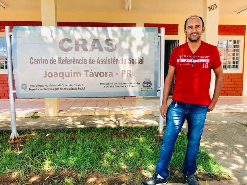 GILSON HUMENIUK É O NOVO DIRETOR DE ASSISTÊNCIA SOCIAL DE JOAQUIM TÁVORA