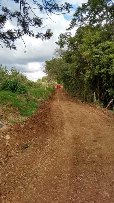Um morador de um bairro rural de Joaquim Tá