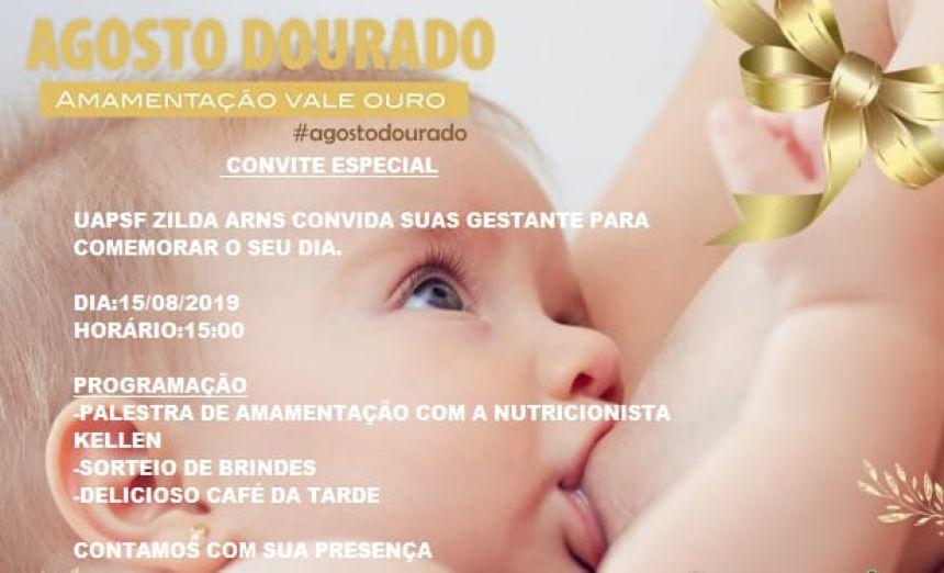 DIA DA GESTANTE É COMEMORADO COM PALESTRA E SORTEIO DE BRINDES EM JOAQUIM TÁVORA