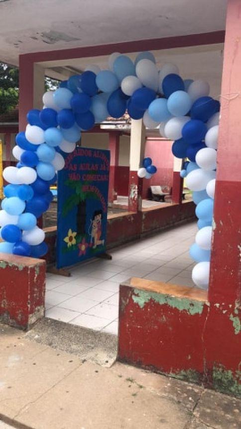 RECEPÇÃO FESTIVA MARCA INÍCIO DO ANO LETIVO NA ESCOLA JANINA
