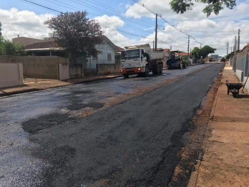 Recuperação Asfaltica da Rua Miguel Dias