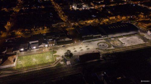 Construção de Parque, Campo de Futebol Society e Pista Skate Próximo a Estação Ferroviária