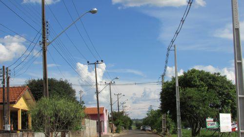 Troca de iluminação Bairro Vila Nova