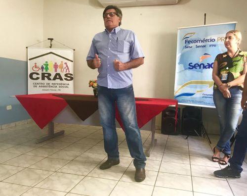 ALUNOS DE JOAQUIM TÁVORA RECEBEM CERTIFICADOS DE CONCLUSÃO DE CURSOS DO SENAC