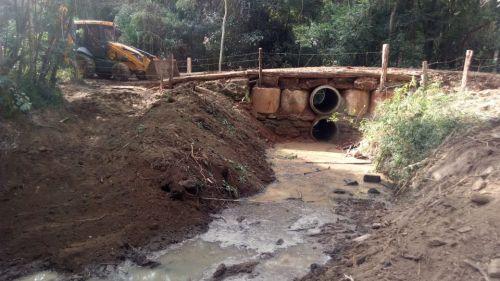Ponte no Bairro Jacaré (Antiga propriedade da Família Bega)