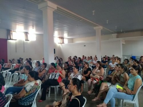 PREFEITURA E DEPARTAMENTO DE EDUCAÇÃO REALIZAM CAPACITAÇÃO PARA OS PROFESSORES DA REDE MUNICIPAL DE ENSINO