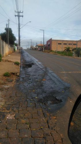 Recuperação Asfaltica Avenida Paraná Saída para Carlópolis