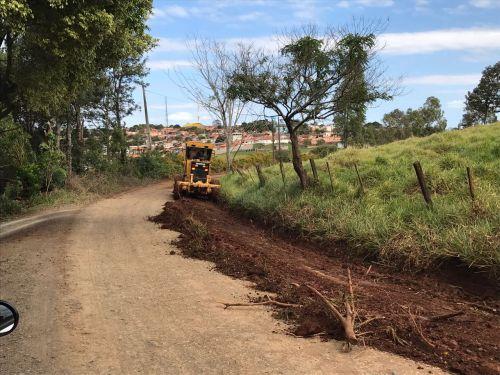 Recuperação da Estrada Rural que liga Joaquim Távora ao Joá/Antena