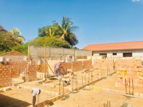 Construção da Cozinha Central