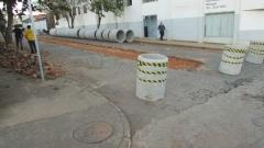 Essa semana inicia as obras na rua barão do