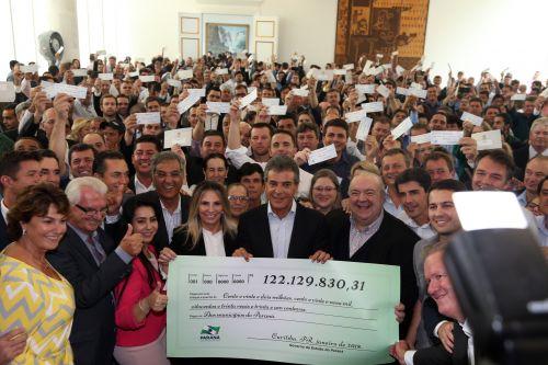 JOAQUIM TÁVORA RECEBE R$ 234 MIL DE COTA EXTRA DO ICMS