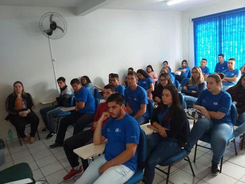ORIENTAÇÕES AOS ALUNOS DO CIEE MARCA OUTUBRO ROSA EM JOAQUIM TÁVORA