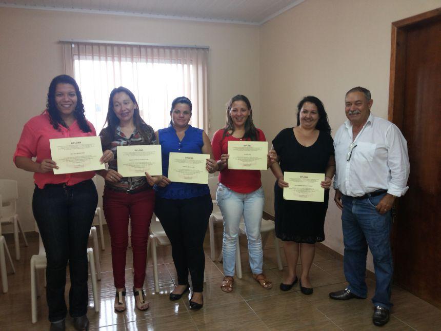 Prefeito Cassemiro Pinto Martins e as Conselheiras