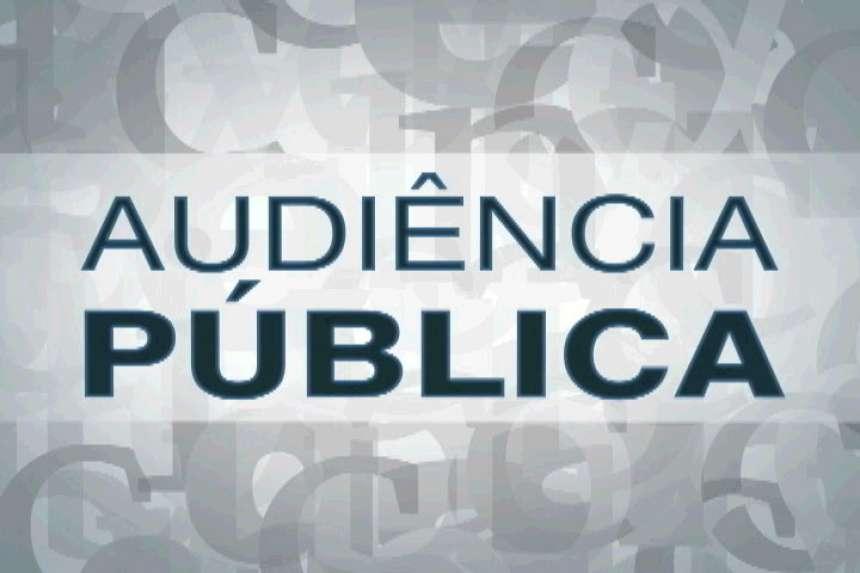 AVISO AUDIÊNCIA PÚBLICA - METAS FISCAIS