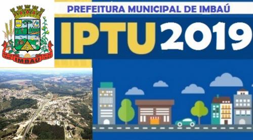 Carnês do IPTU 2019 estão disponíveis