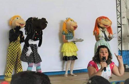 Festa em comemoração ao Dia da criança