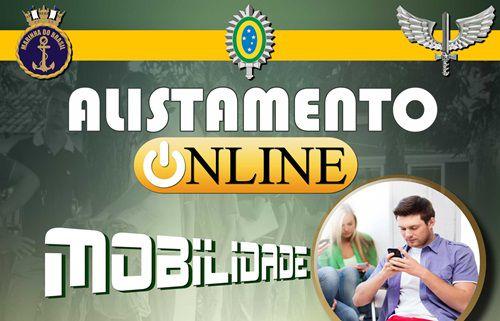 Alistamento online