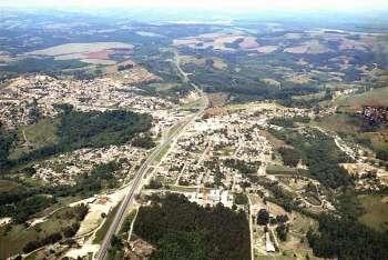 Imagem Aérea da Cidade de Imbaú